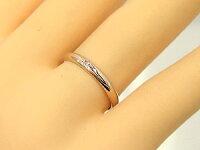 指輪ペアペアリング人気一粒ダイヤモンドブルーダイヤモンド結婚指輪マリッジリングホワイトゴールドk18ピンクゴールドk18ダイヤ18金ストレート