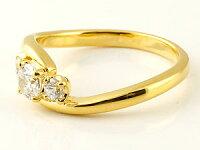 鑑定書付き婚約指輪エンゲージリングダイヤモンドリング指輪ダイヤスリーストーントリロジーイエローゴールドk18大粒SIクラス18金レディースブライダルジュエリーウエディング