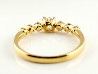 鑑定書付き婚約指輪ダイヤモンドリング指輪大粒ダイヤVSクラスダイヤモンドリングミル打ちイエローゴールドk1818金ストレートレディースブライダルジュエリーウエディング