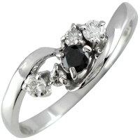 【送料無料】エンゲージリング婚約指輪ブラックダイヤモンドダイヤモンドリングダイヤ指輪ホワイトゴールドk1818金ダイヤモンドリングストレート