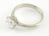 【送料無料】婚約指輪エンゲージリングプラチナダイヤモンドソリティア一粒大粒ダイヤモンドリングダイヤストレート