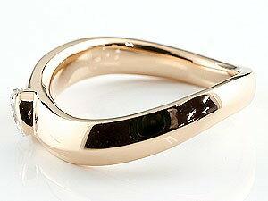 婚約指輪 エンゲージリング ダイヤモンド リング 一粒 指輪 ダイヤ ダイヤモンドリング ピンクゴールドk18 大粒 0.30ct 18金 レディース ストレート 贈り物 誕生日プレゼント ギフト ファッション お返し