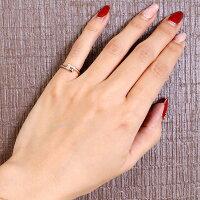 【送料無料】ダイヤモンドリングピンクゴールドk18婚約指輪エンゲージリングピンキーリング18金ダイヤモンドリングダイヤストレート