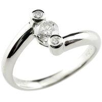 【送料無料】0.34ct婚約指輪エンゲージリングダイヤモンドプラチナ一粒大粒ダイヤモンドリングダイヤストレート