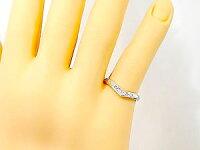 【送料無料】婚約指輪ダイヤモンドリングホワイトゴールドK18エンゲージリングピンキーリング18金ダイヤモンドリングダイヤストレート