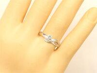 【送料無料】婚約指輪エンゲージリング鑑定書付きダイヤモンドリングハードプラチナリング指輪一粒ダイヤSIpt950ストレート