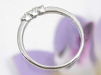 【送料無料】ダイヤモンドリング指輪ホワイトゴールド婚約指輪エンゲージリング18金ダイヤストレートレディースブライダルジュエリーウエディング