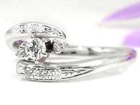 【送料無料】鑑定書付きエンゲージリングダイヤモンドリングプラチナ指輪ダイヤモンド0.20ctSIダイヤストレートレディースブライダルジュエリーウエディング