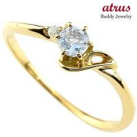 【送料無料】ピンキーリングエンゲージリングイニシャルネームJ婚約指輪ブルームーンストーンダイヤモンドイエローゴールドk18指輪アルファベット18金レディース6月誕生石人気