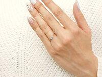 【送料無料】エンゲージリングイニシャルネームR婚約指輪ブルームーンストーンダイヤモンドホワイトゴールドk18指輪アルファベット18金レディース6月誕生石人気
