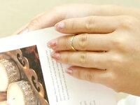 【送料無料】ファランジリングペリドットミディリング関節リングイエローゴールドk18指輪ピンキーリング甲丸リングネイルリングレディース8月誕生石人気18金