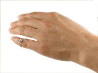ファランジリングハートブルートパーズミディリングホワイトゴールドk18関節リング指輪華奢ネイルリングレディース11月誕生石人気18金