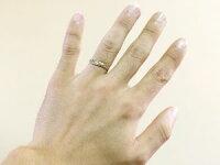 【送料無料】刻印ハワイアンペアリング人気結婚指輪ハートホワイトゴールドk18地金リング18金k18wgストレートカップル