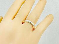 ハワイアンペアリング人気結婚指輪シルバー地金リングsv925ストレートカップル