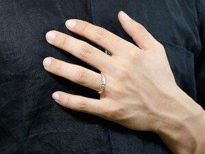 【送料無料】ハワイアンジュエリーペアリング結婚指輪マリッジリング地金リングリーガルタイプシルバー925幅広ミル打ちsv925ストレートカップル