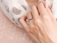 【送料無料】スイートハグリングハワイアンジュエリーペアリングプラチナ結婚指輪マリッジリングフリーサイズリング指輪ハンドメイド結婚式ストレートカップル