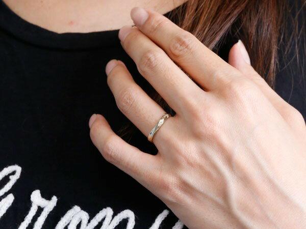 ペアリング ハワイアンジュエリー 結婚指輪 マリッジリング ホワイトゴールドk18 ハワイアンリング V字 地金 k18 カップル 贈り物 誕生日プレゼント ギフト ファッション パートナー