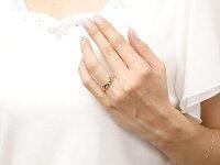 結婚指輪ペアリングハワイアンジュエリーブルームーンストーンダイヤモンドイエローゴールドk10幅広指輪マリッジリングハート10金プロポーズ記念日誕生日マリッジリング