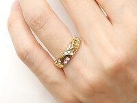 結婚指輪ペアリングハワイアンジュエリーピンクサファイアダイヤモンドプラチナイエローゴールドk18幅広指輪マリッジリングハート18金プロポーズ記念日誕生日マリッジリング