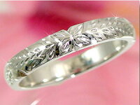 結婚指輪ハワイアンペアリング人気プラチナ900ピンクゴールドk18PT900k18PG結婚記念リング2本セット地金リング18金ストレートカップル