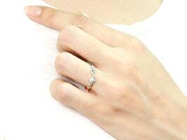 【送料無料】ハワイアンジュエリーダイヤモンドプラチナリング指輪一粒ダイヤモンドダイヤハワイアンリングV字pt900レディース