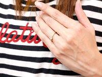 【送料無料】ハワイアンジュエリーダイヤモンドリング一粒大粒指輪イエローゴールドk10ハワイアンリング10金k10ygダイヤストレート