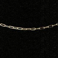 【送料無料】ネックレスイエローゴールドk18チェーンフィガロチェーン鎖レディース45cm18金地金ネックレス