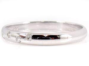 ペアリング 結婚指輪  プラチナ900 ダイヤ ダイヤモンド マリッジリング ハンドメイド 結婚式 ダイヤ ストレート カップル 2.3 贈り物 誕生日プレゼント ギフト ファッション