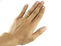 【送料無料】ペアリングピンクゴールドk18マリッジリング結婚指輪2本セット結婚式18金ストレートカップル