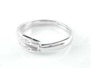 結婚指輪 マリッジリング ペアリング ホワイトゴールドk18 ダイヤモンド 結婚式 18金 ダイヤ ストレート カップル ペア ブライダル シンプル 人気 ペア シンプル 2本セット 彼女 結婚記念日