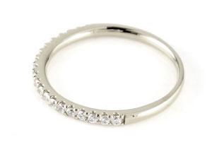 ペアリング 結婚指輪 マリッジリング プラチナ ダイヤモンド ハーフエタニティ 一粒 結婚式 ダイヤ ストレート カップル 2.3 贈り物 誕生日プレゼント ギフト ファッション