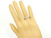 【送料無料】クロスペアリングプラチナ結婚指輪マリッジリングダイヤモンドブルーダイヤモンド幅広結婚式ダイヤストレートカップルブライダルジュエリーウエディング