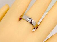 【送料無料】ペアリング結婚指輪マリッジリングプラチナ一粒ダイヤモンドブラックダイヤモンド幅広結婚式ダイヤストレートカップル