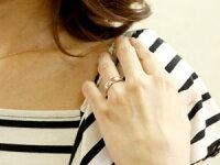 ペアリング結婚指輪マリッジリングハートホワイトゴールドK18ピンクゴールドK18結婚式18金ストレートカップルブライダルジュエリーウエディング