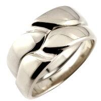 【送料無料】ペアリング結婚指輪マリッジリングシルバーストレートカップル
