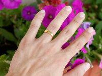 【送料無料】ペアリング結婚指輪マリッジリングダイヤモンドハートイエローゴールドk18結婚式18金ダイヤストレートカップル