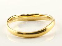 ペアリング人気結婚指輪マリッジリングホワイトゴールドk18イエローゴールドk1818金地金リング結婚式シンプル宝石なしストレートカップルブライダルジュエリーウエディング