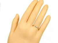 【送料無料】最短納期ペアリング結婚指輪マリッジリングホワイトゴールドk10ピンクゴールドk10ソリティア10金ストレートカップル
