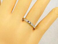 刻印ペアリングダイヤダイヤモンド結婚指輪マリッジリングホワイトゴールドk18結婚式18金ストレートカップルブライダルジュエリーウエディング