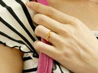 【送料無料】ペアリングダイヤモンド結婚指輪マリッジリングピンクゴールドk1818金ダイヤストレートカップル