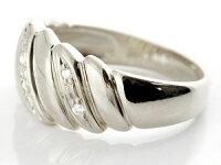 【送料無料】ペアリング結婚指輪マリッジリングダイヤモンド幅広ホワイトゴールドk18結婚式18金ダイヤストレートカップル