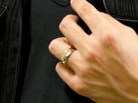 【送料無料】ペアリングキュービックジルコニア結婚指輪マリッジリング幅広つや消しシルバーストレートカップル