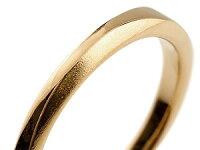 【送料無料】ペアリングダイヤモンド結婚指輪マリッジリングピンクゴールドk10ホワイトゴールドk10シンプルつや消し10金結婚式ダイヤストレートペアリィー
