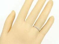 【送料無料】スイートハグリングペアリング結婚指輪マリッジリングホワイトゴールドk18ピンクゴールドk18フリーサイズリング指輪ハンドメイド結婚式18金カップル