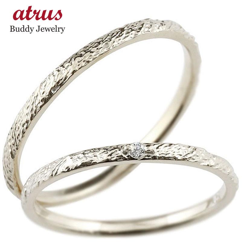 ペアリング 結婚指輪 マリッジリング ダイヤモンド プラチナリング ダイヤ pt900 極細 華奢 アンティーク 結婚式 ストレート スイートペアリィー カップル 贈り物 誕生日プレゼント ギフト:ジュエリー工房アトラス