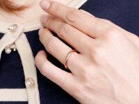 【送料無料】スイートハグリングペアリング結婚指輪マリッジリングピンクゴールドk10ホワイトゴールドk1010金フリーサイズリング指輪天然石結婚式ストレート