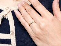【送料無料】ペアリング結婚指輪マリッジリングダイヤモンドイエローゴールドk18ホワイトゴールドk18ダイヤ18金極細華奢結婚式ストレートペアリィーカップル
