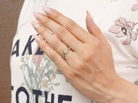 【送料無料】ペアリング指輪ホワイトゴールドk10ダイヤモンド透かしアラベスクストレートダイヤ10金クリスマス