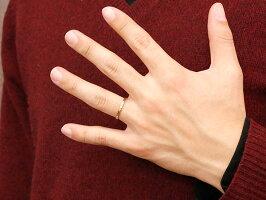 【送料無料】結婚指輪マリッジリングペアリングプラチナピンクゴールドk18スイートペアリィー結びリングpt90018金華奢ストレート地金リングコンビ