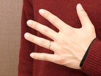 【送料無料】結婚指輪マリッジリングペアリングピンクゴールドk10ダイヤモンドスイートペアリィー結びリング10金華奢ストレート